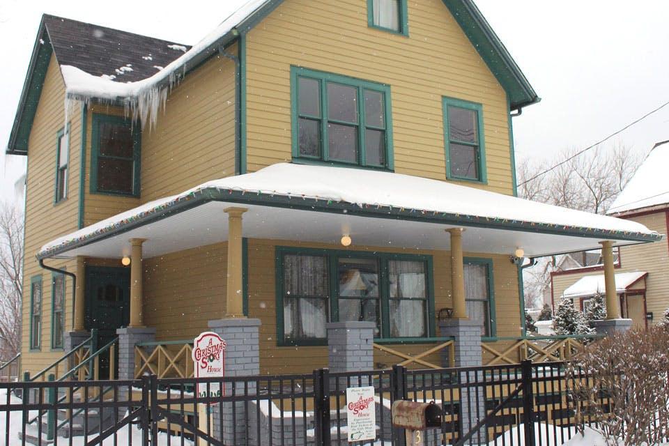 Christmas Story House.A Christmas Story House Museum Cleveland