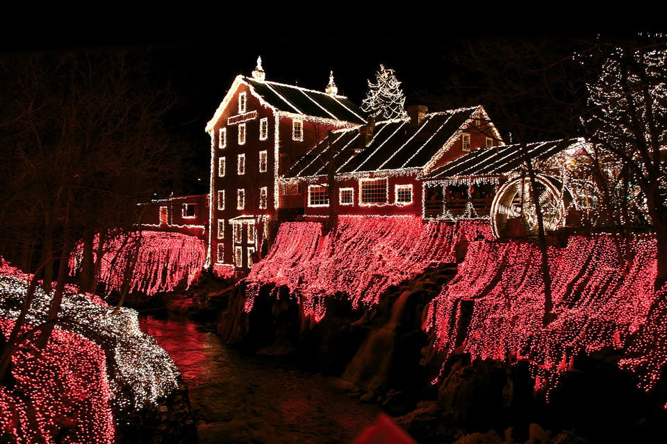 Clifton Mill Christmas Lights.The Legendary Lights Of Clifton Mill