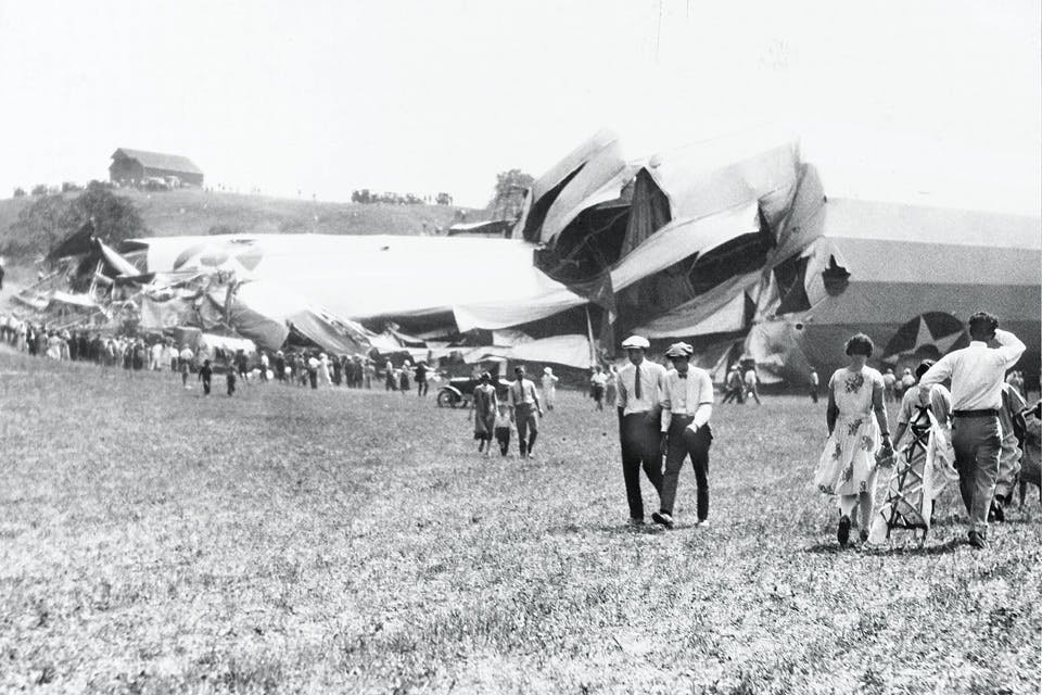 The Crash of the USS Shenandoah