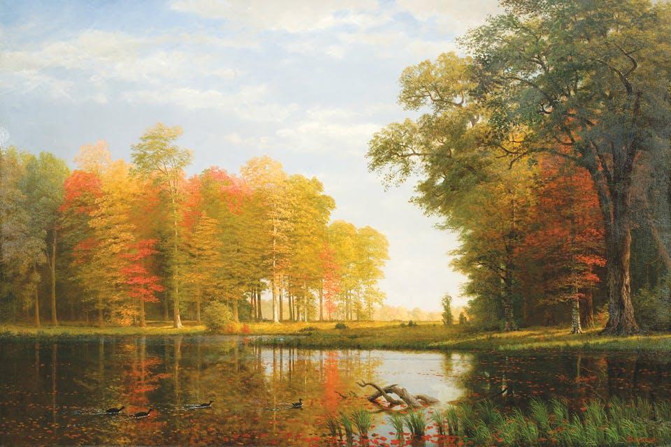 Bierstadt_Autumn_Woods