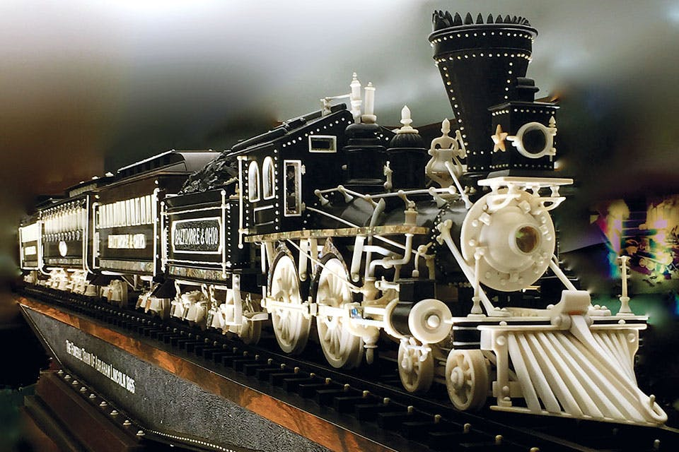 Warther's Funeral Train of Abraham Lincoln