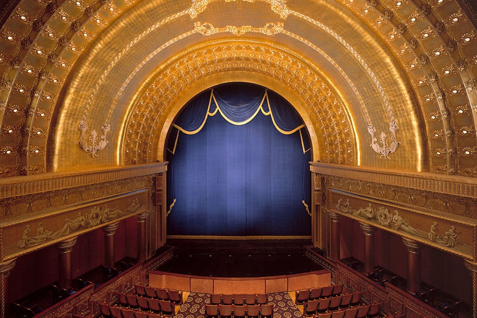 Southern Theatre balcony view